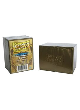 Dragon Shield Deckbox: Gold