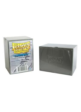 Dragon Shield Deckbox: Silver