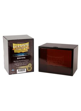 Dragon Shield Deckbox: Brown