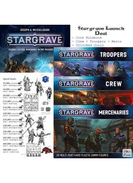 Stargrave Launch Deal: Core Rules + Boxed Sets