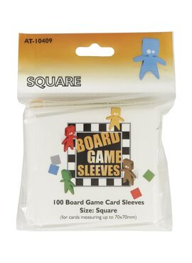Tinmen Board Game Sleeves: Square