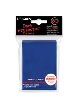 Deck Protectors: Solid Blue