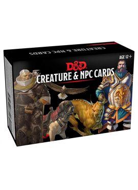 Monster Cards: Creatures & NPC's