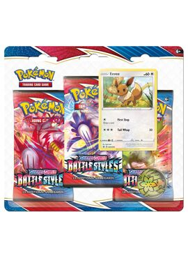 Battle Styles 3 Boosters Pack Evee