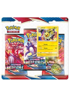 Battle Styles 3 Boosters Pack Jolteon