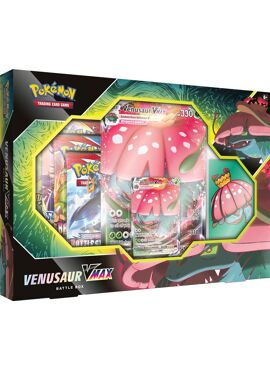 Venusaur V Max Battle Box