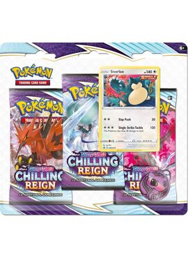Chilling Reign Tripack Snorlax