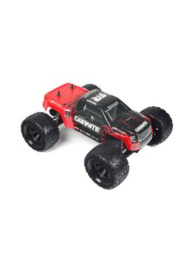 Arrma - GRANITE 2WD MEGA Brushed Monster Truck RTR Red ( incl NiMh 7,2V 2000Mah + Charger )