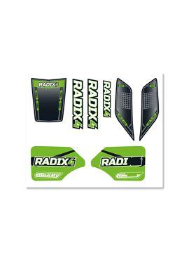 Team Corally - Body Decal Sheet  - Radix 4S - 1 pc