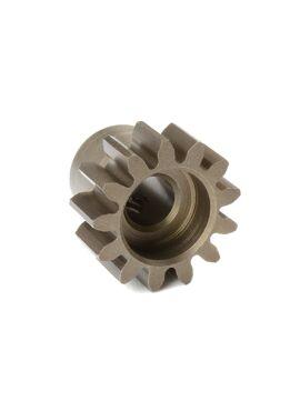 Team Corally - M1.0 Motortandwiel - Kort - Gehard staal - 13 Tanden - Motoras dia. 5mm