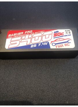 FastRC Power Racing 50C 5400mAh 2S 7.4V