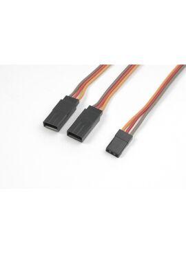 G-Force RC - Servo Y-kabel - JR/Hitec - 22AWG / 60 Strengen - 15cm - 1 st