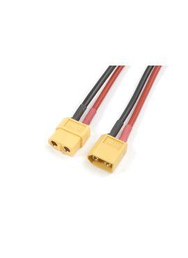 G-Force RC - Verlengkabel XT60, silicone kabel 14AWG, 12cm (1st)