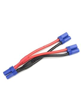 G-Force RC - Power Y-kabel - Parallel - EC-5 - 10AWG Siliconen-kabel - 12cm - 1 st