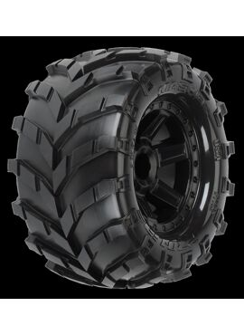 Masher 2.8 (Traxxas Style Bead) All Terrain Tires Mounted on, PR1192-12