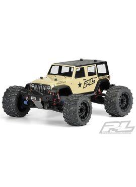 Jeep Wrangler Unlimited RubicoClear Body T/E-MAXX 3.3, REVO