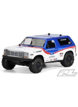 1981 Ford Bronco Clear Body for PRO-2 SC, Slash, Slash 4x4 a
