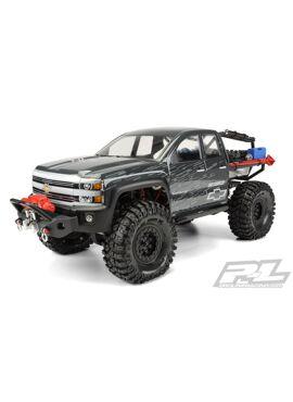 Chevy Silverado Clear Body for Axial SCX10 Trail Honcho 12.3