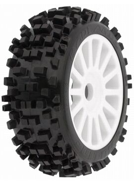 Badlands XTR (Firm) All Terrain 1:8 Buggy Tires (2) for Fron