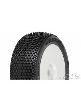 Blockade M3 (Soft) Off-Road 1:8 Buggy Tires Mounted on V2 Wh
