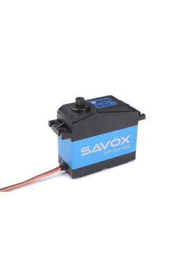 Savox - Servo - SW-0241MG - Digital - High Voltage - DC Motor - Waterproof - Metaal tandwielen