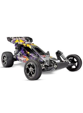 TRAXXAS Bandit VXL BL 2.4GHz TSM (no battery and charger)