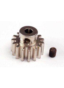 Gear, 15-T pinion (32-p) (mach. steel)/ set screw