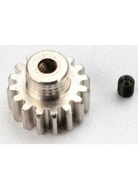 Gear, 16-T pinion (32-p) (mach. steel)/ set screw