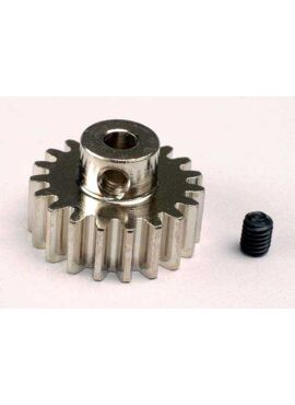 Gear, 19-T pinion (32-p) (mach. steel)/ set screw