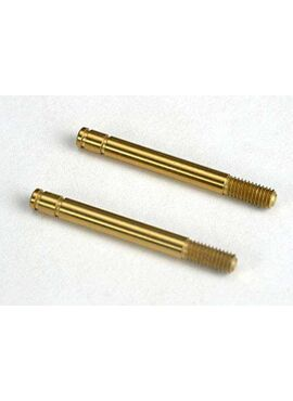 Shock shafts, hardened steel, titanium nitride coated (29mm), TRX4261T