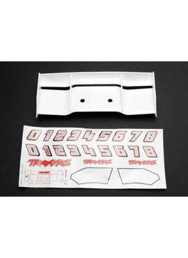 Wing, Revo (white)/ decal sheet, TRX5412