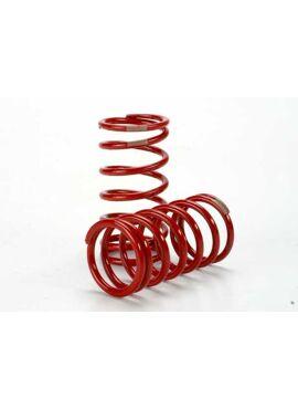 Spring, shock (red) (GTR) (4.1 rate tan) (1 pair), TRX5440