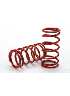 Spring, shock (red) (GTR) (4.4 rate black) (1 pair), TRX5441