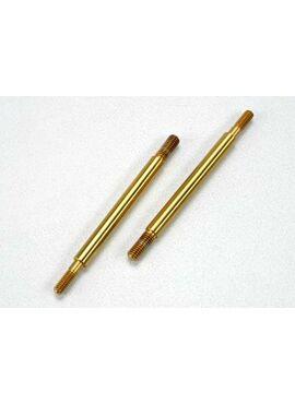 Shaft, GTR shock (2) (stainless), TRX5463