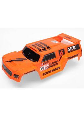 Body, Slash, Dakar Truck Orange