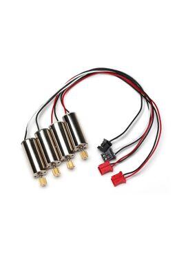 Motors, Cw (2)/ Ccw (2) Spur Gear, 78-Too, TRX6634