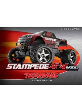 Owners Manual, Stampede 4x4 VXL, TRX6799