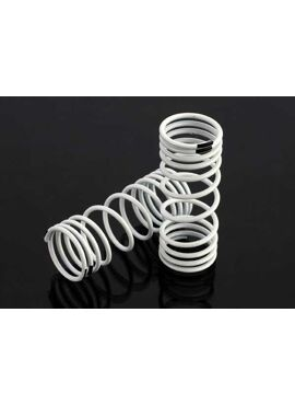 Springs, front (white) (progressive rate) (2)