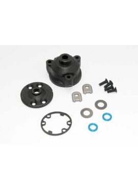Housing, center differential/ x-ring gaskets (2)/ ring, TRX6884