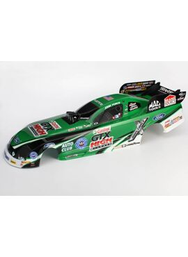 Body, Ford Mustang, John Force (painted, decals applied)