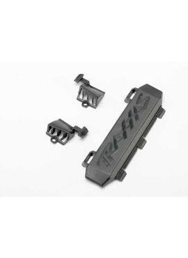 Door, battery compartment (1)/ vents, battery compartment (1, TRX7026