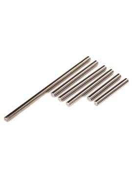 Suspension pin set, front or rear corner (hardened steel), 4, TRX7740