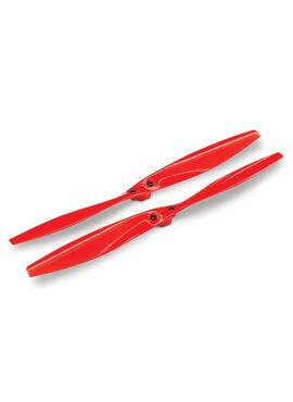Rotor blade set, red (2) (with screws)