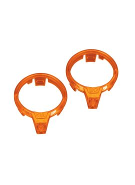 LED lens, motor, orange (left & right)