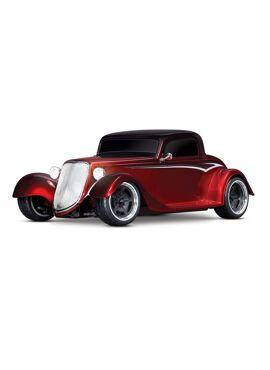 Traxxas Hot Rod Coupe 1/10 Scale AWD 4-Tec 3.0, Blue