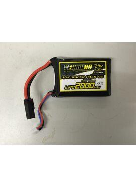 YellowRC Tuning Battery 2000mAh 1/12 Racers V2 connector