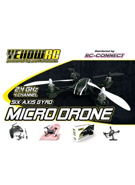 Yellow-RC Micro Drone V2 incl battery