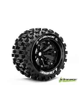 MT 3.8 ROCK 1/8  Felge schwarz 17mm TRAXXAS / 0 Offset