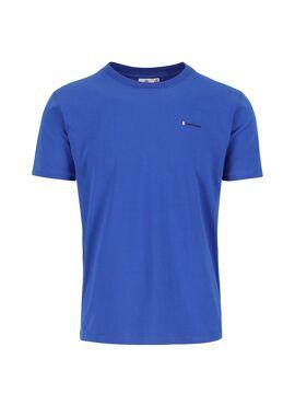 Silvermedal - T-shirt heren - effen - ronde hals - klein logo