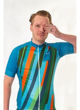 Yarn - S/S Jersey Lines Fietsshirt Heren